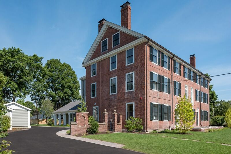 Norfolk House apartments in Dedham Square